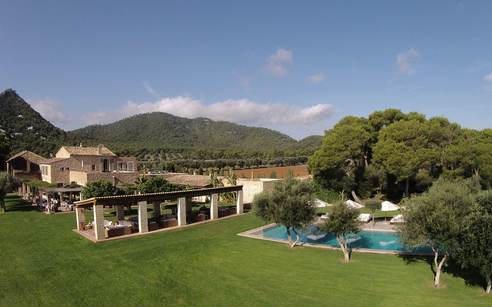 Can Simoneta is a 5 Star Hotel surrounded by countryside